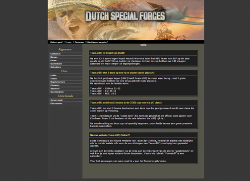 Dutch Special Forces (2005)